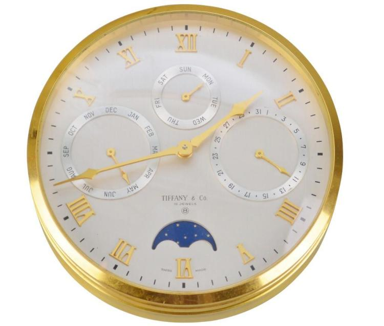 Tiffany and Co. Desk Clock