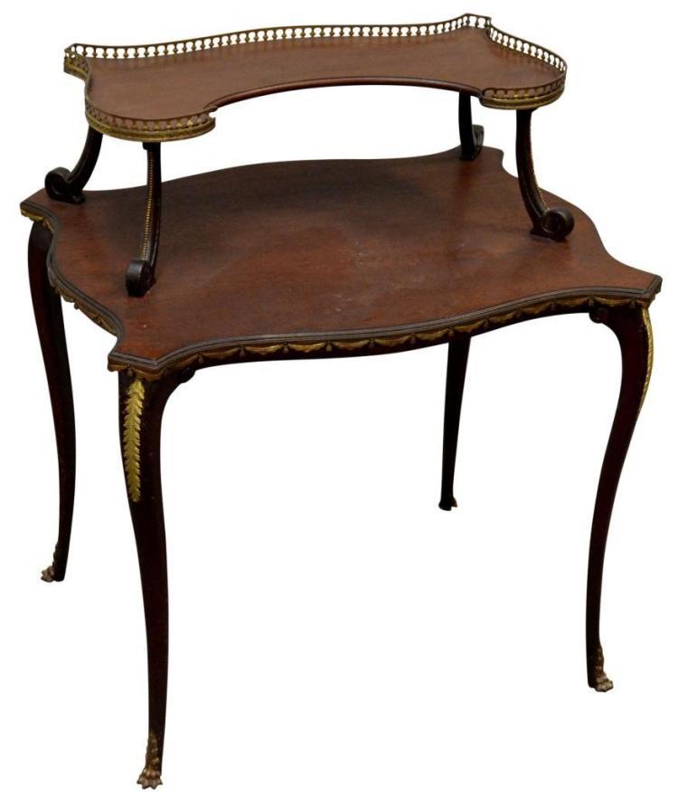 Louis XV Ormolu Mounted Table