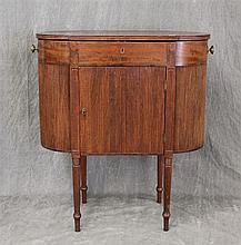 Sheraton Sewing Stand, Mahogany, 28