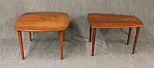Pair of Mid Century Coffee Tables including (1) John Stuart Table  18