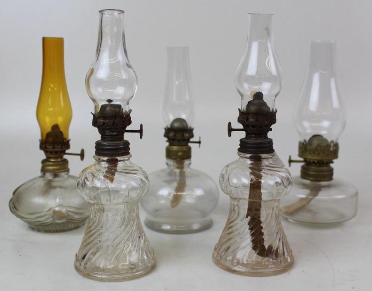 Five Oil Lamps