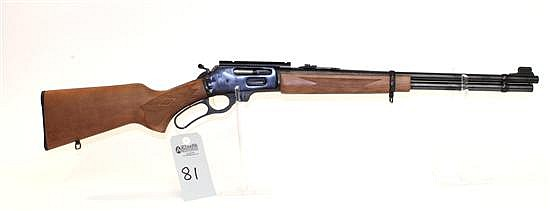 """Marlin Firearms Co. Model 336W lever action rifle. Cal. 30-30 Win. 20"""" bbl. SN MR29807B. Blued finish on metal, checkered walnut sto..."""