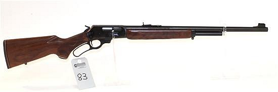 "Marlin Firearms Co. Model 444SS lever action rifle. Cal. 444 Marlin. 22"" bbl. SN 04048278. Blued finish on metal, checkered walnut s..."