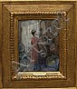 Martha Walter. Interior genre, oil on panel, 11