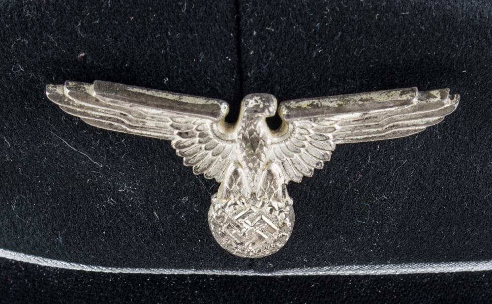 ALLGEMEINE-SS GENERAL'S 'CRUSHER' STYLE VISOR CAP