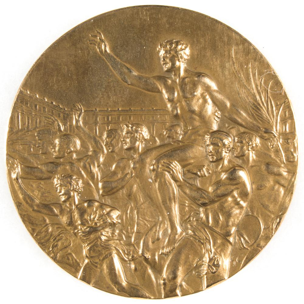 ORIGINAL BRONZE MEDAL FROM THE 1936 BERLIN OLYMPICS