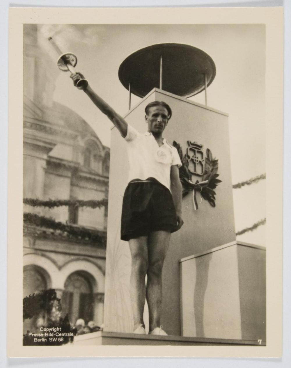 1936 BERLIN OLYMPICS TORCH
