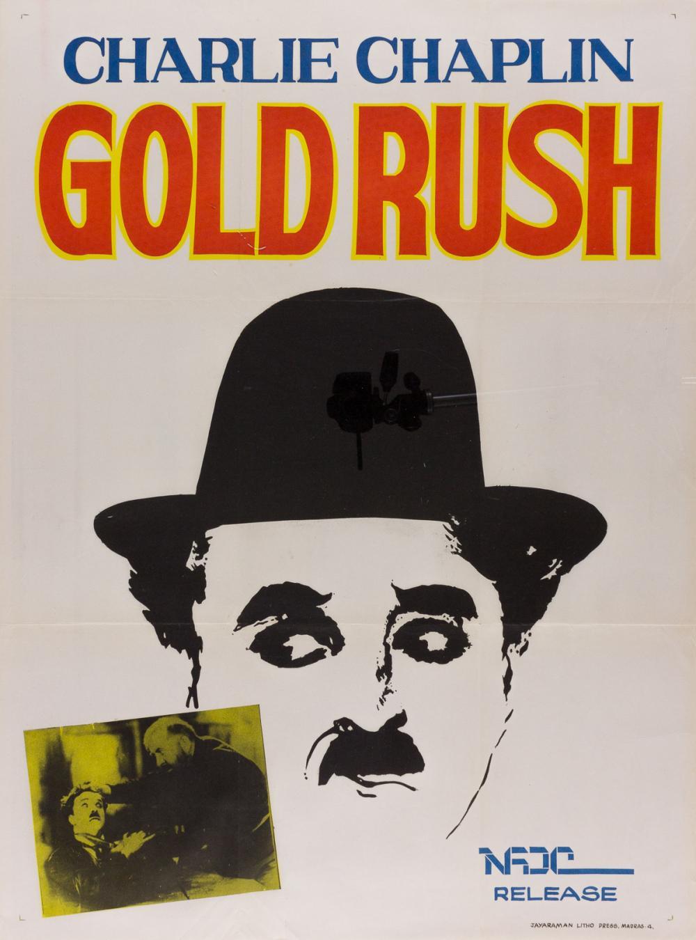 The Gold Rush 1925 Charlie Chaplin movie poster print 4