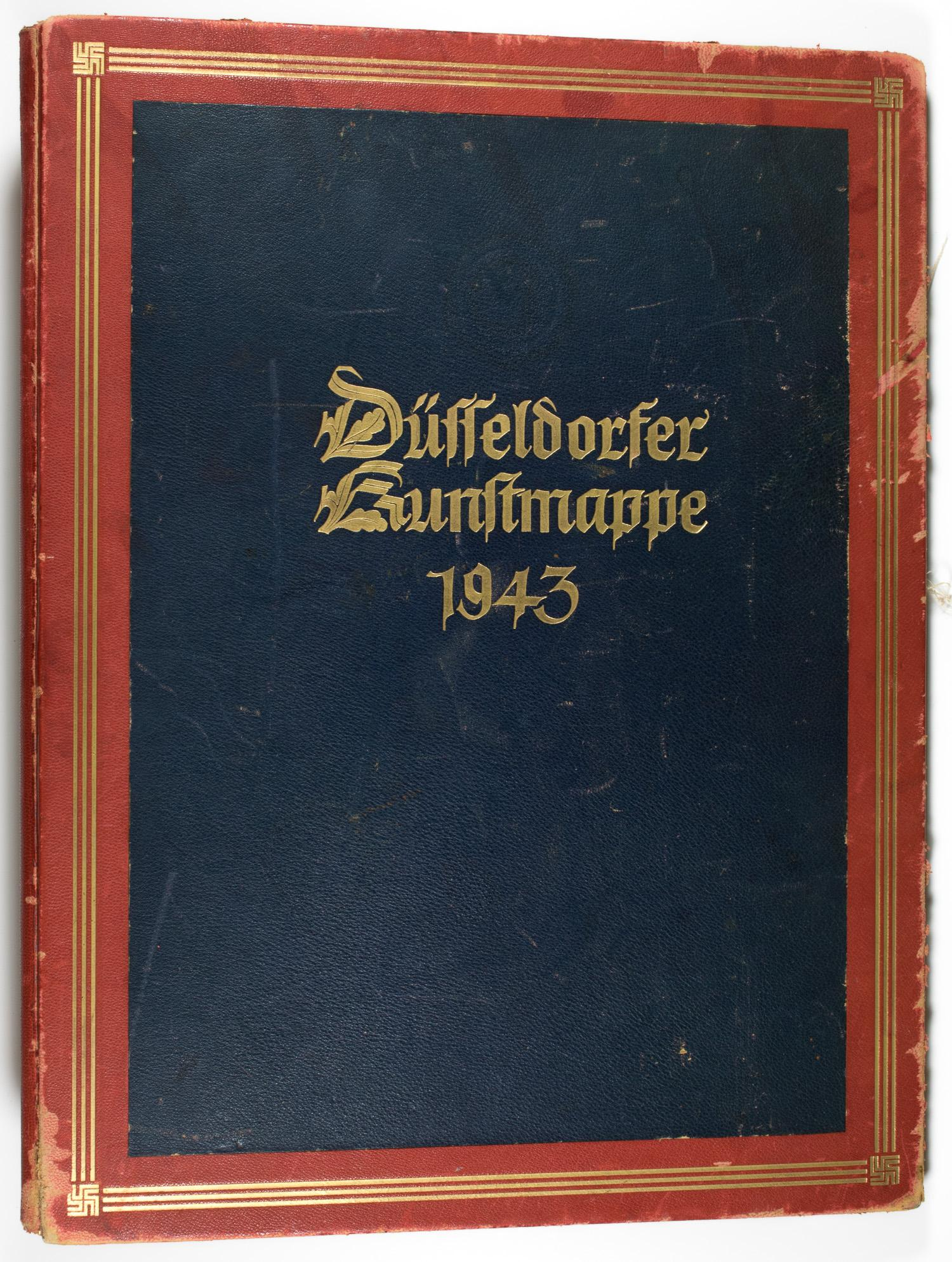 ADOLF HITLER'S PERSONAL CHRISTMAS GIFT FROM GAULEITER KARL FLORIAN