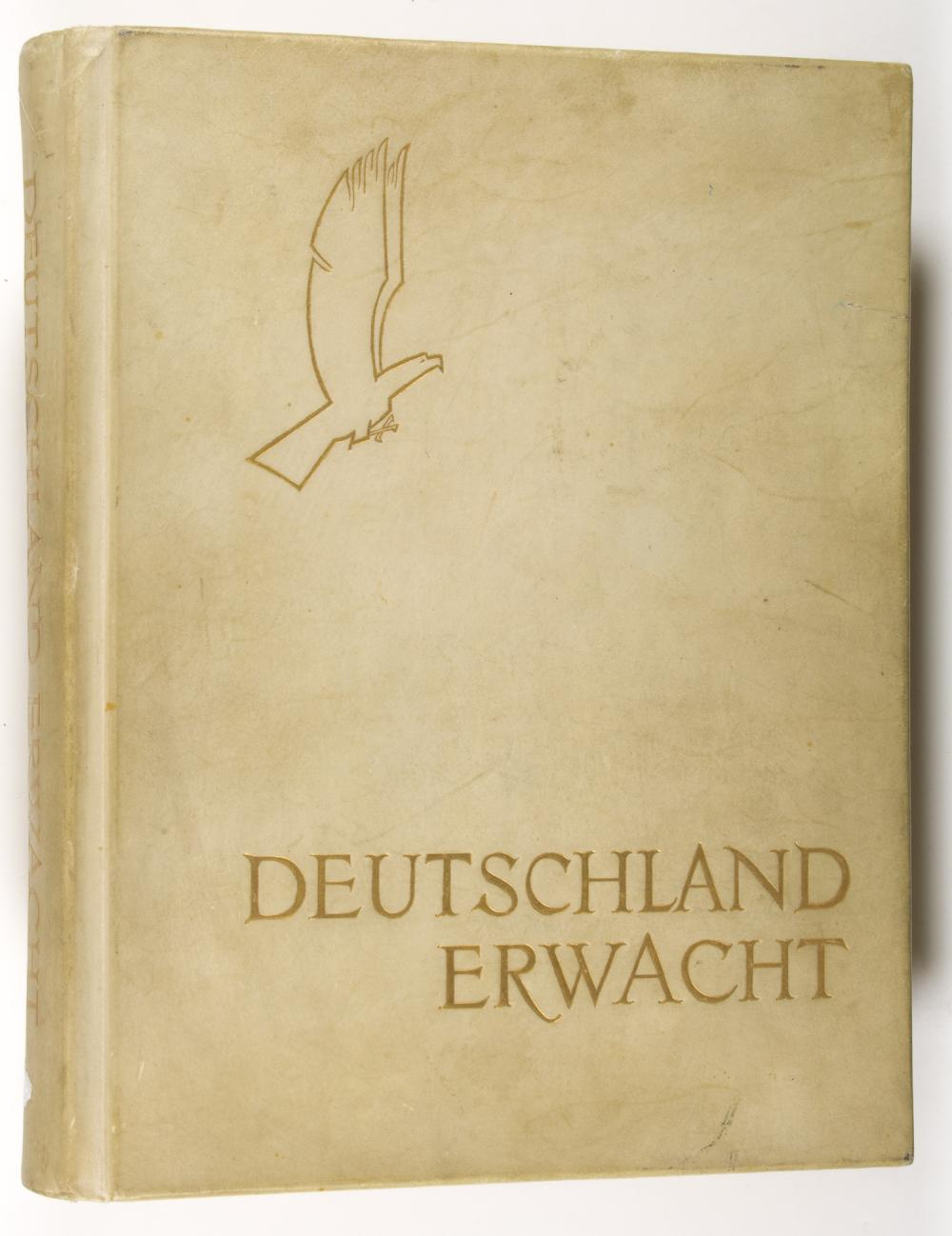 CIGARETTE ALBUM FROM THE LIBRARY OF HIMMLER'S LIAISON OFFICER, KARL WOLFF