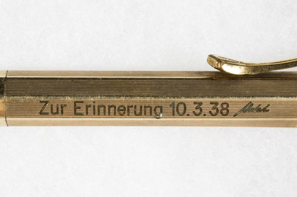 ERNST UDET PRESENTATION WATERMAN MECHANICAL PENCIL