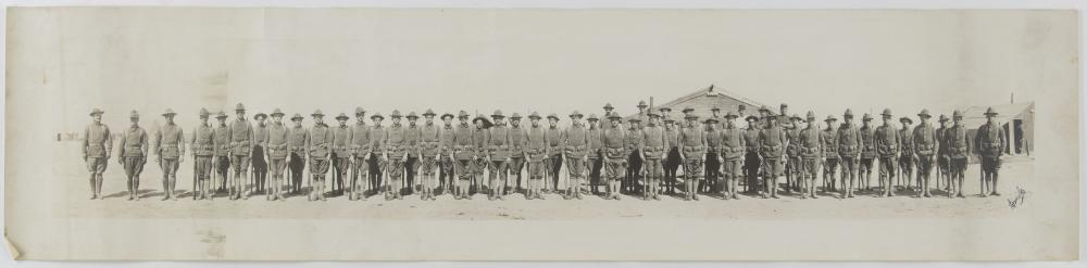GEN. CLARENCE R. HUEBNER'S EARLY PANORAMIC PHOTOGRAPHS (3)