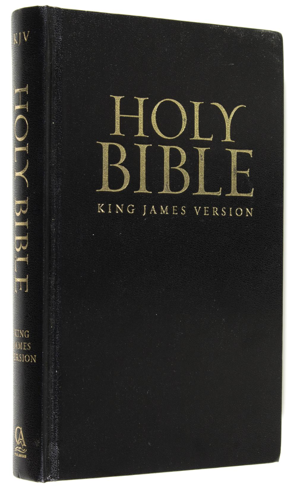 DONALD TRUMP SIGNED BIBLE