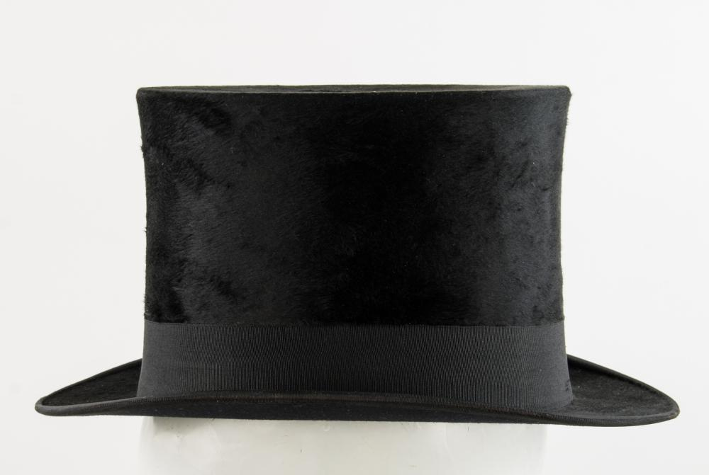 ADOLF HITLER'S BLACK FORMAL FROCK COAT AND TOP HAT