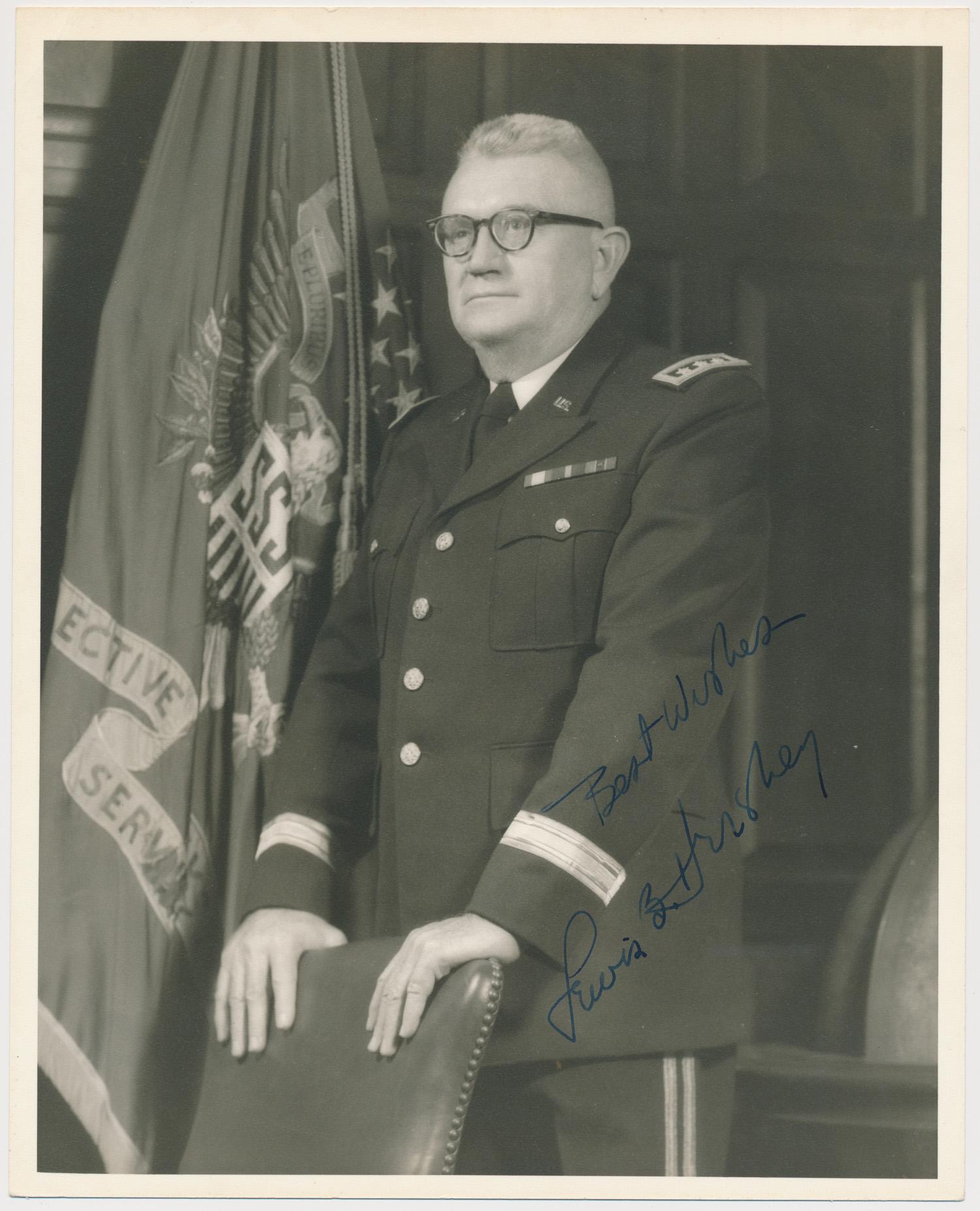 (U.S. SELECTIVE SERVICE) LEWIS B. HERSHEY