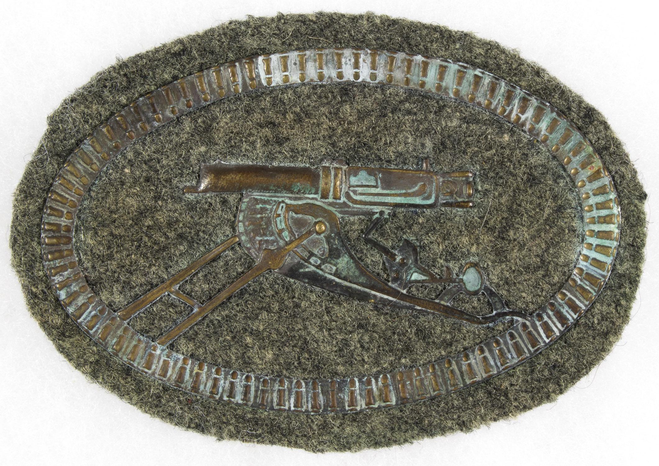 GERMAN NAVAL MACHINE GUN SPECIALIST'S BADGE