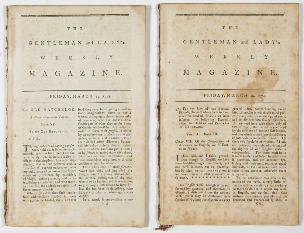 1774 PUBLICATIONS DESCRIBE THE 'BOSTON TEA PARTY'