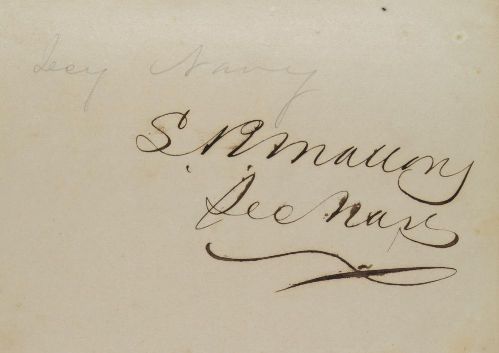 AUTOGRAPH BOOK OF THE FIRST CONFEDERATE CONGRESS, JEFFERSON DAVIS, AND HIS CABINET