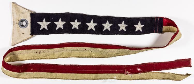 U.S. NAVY JACK AND COMMISSIONING PENNANT