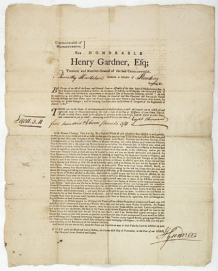 HENRY GARDNER - Current Bid: $300.00