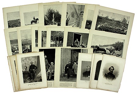 IMAGES FROM THE PHOTOGRAPHIC HISTORY OF THE CIVIL WAR