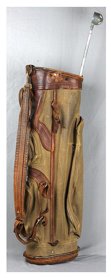 DWIGHT D. EISENHOWER'S GOLF BAG - Current Bid: $1,000.00
