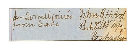 JOHN BELL HOOD - Current Bid: $220.00