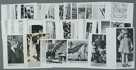 JOHN F. KENNEDY ASSASSINATION PHOTOS - Current Bid: $100.00