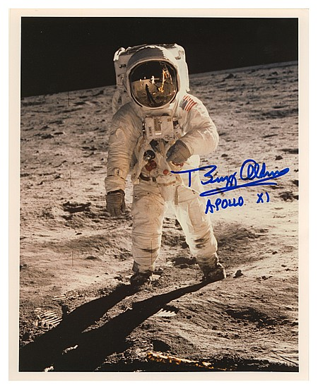 """EDWIN A. """"BUZZ"""" ALDRIN AND MORE - Current Bid: $220.00"""