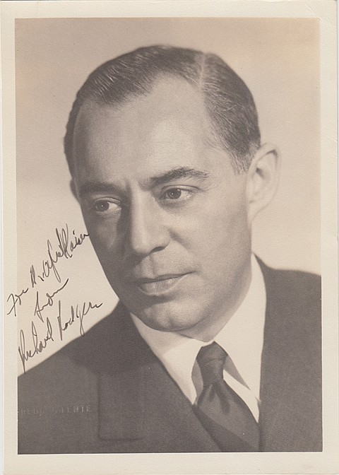 RICHARD RODGERS AND OTHER ENTERTAINERS