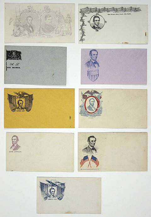 LINCOLN COVER COLLECTION - Current Bid: $160.00