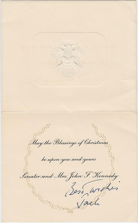JOHN F. KENNEDY - Current Bid: $100.00
