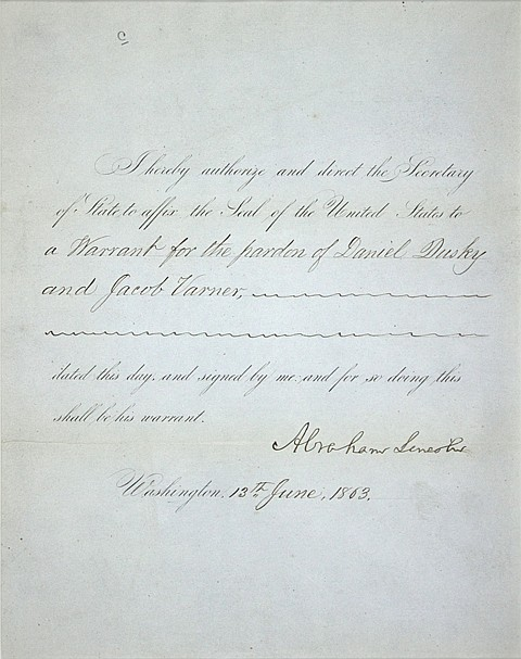 ABRAHAM LINCOLN - Current Bid: $5,500.00