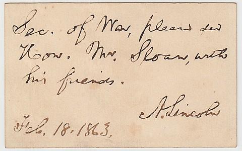 ABRAHAM LINCOLN - Current Bid: $3,750.00