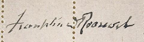 FRANKLIN D. ROOSEVELT - Current Bid: $100.00