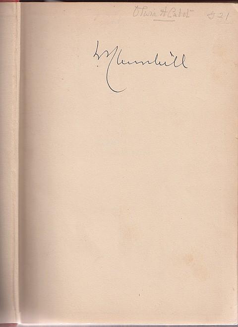 WINSTON S. CHURCHILL - Current Bid: $500.00