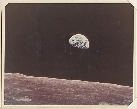 EARTHRISE PRESENTATION PHOTO - Current Bid: $600.00