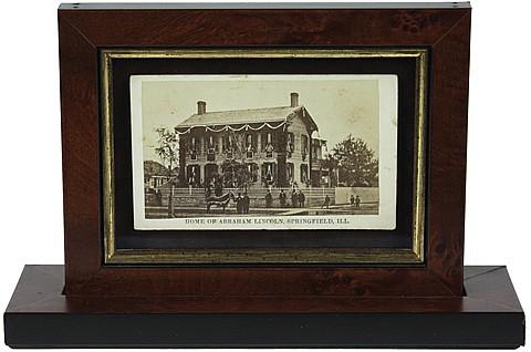 (ABRAHAM LINCOLN'S HOME) - Current Bid: $260.00