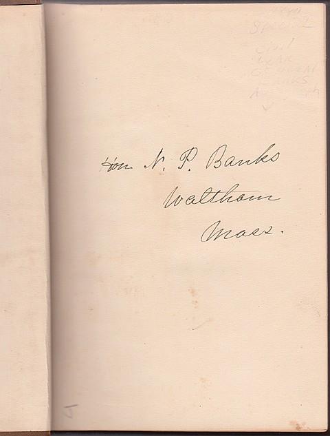 NATHANIEL P. BANKS - Current Bid: $50.00