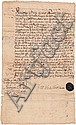 Image 1 for (EARLY PHILADELPHIA, PENNSYLVANIA) THOMAS LLOYD - Current Bid: $160.00