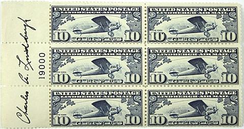 CHARLES A. LINDBERGH - Current Bid: $360.00