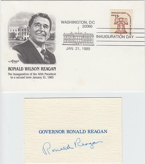 RONALD REAGAN - Current Bid: $260.00