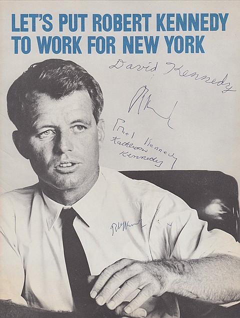 ROBERT F. KENNEDY - Current Bid: $280.00