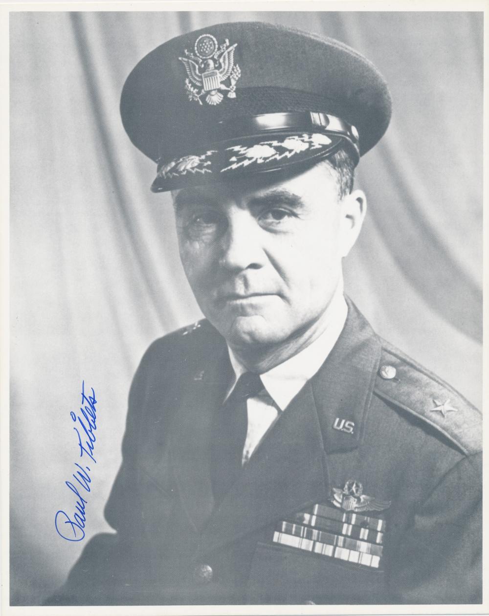 PAUL W. TIBBETS