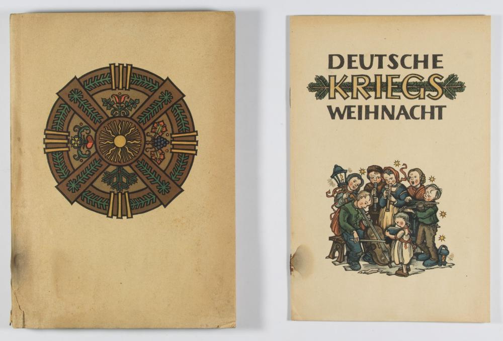 'DEUTSCHE KRIEGSWEIHNACHT' NAZI BOOKS