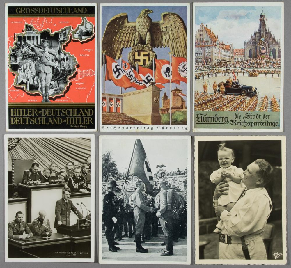 (GERMAN POSTAL HISTORY) POSTCARDS