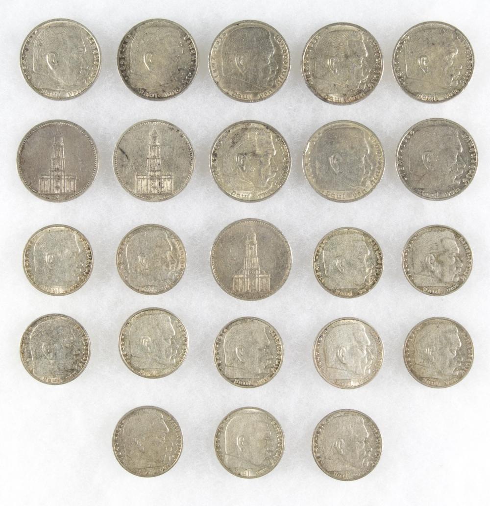 REICHSMARK COINS (23)