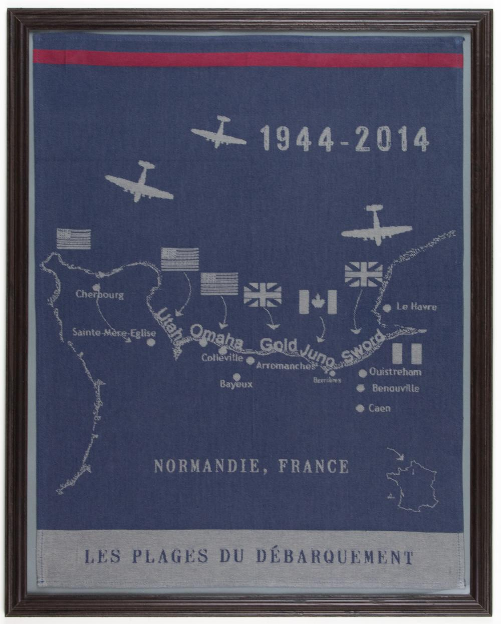 D-DAY INVASION TAPESTRY