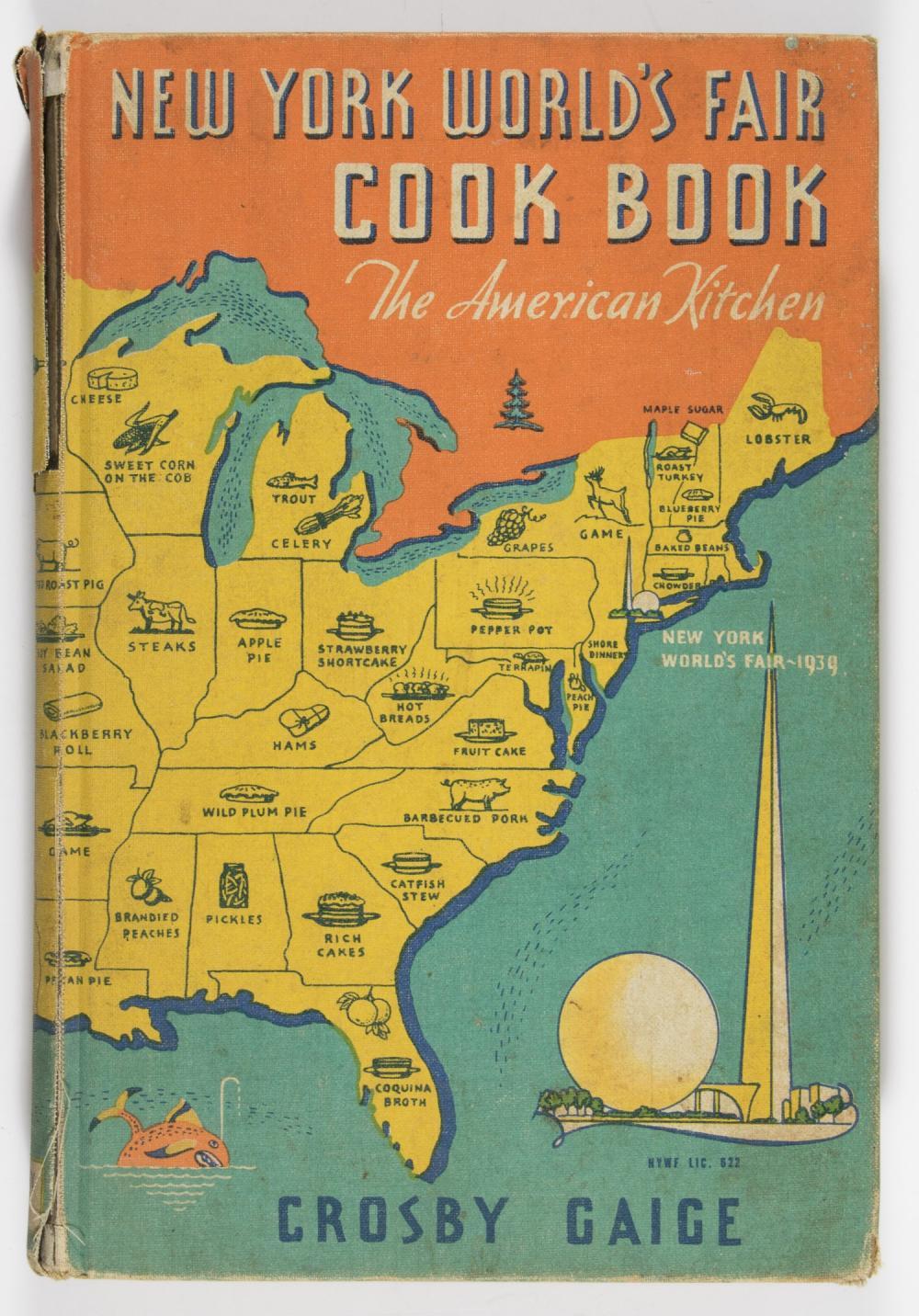 NEW YORK'S WORLD FAIR COOKBOOK