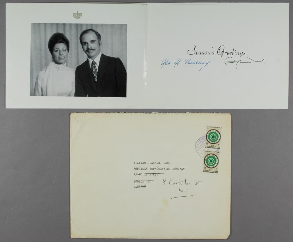 KING HUSSEIN I AND QUEEN ALIA